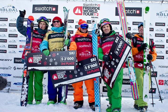 Off Piste Skiing in Verbier Switzerland