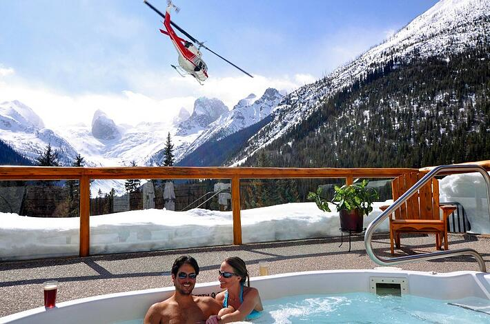 Reasons Why Every Skier Should Go Heli Skiing - The Hottub and Apres Ski