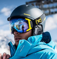 Skier Guided Heli skiing tours