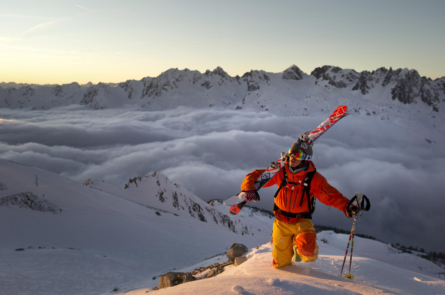 Reasons Why Every Skier Should Go Heli Skiing - Skiing Above the Clouds