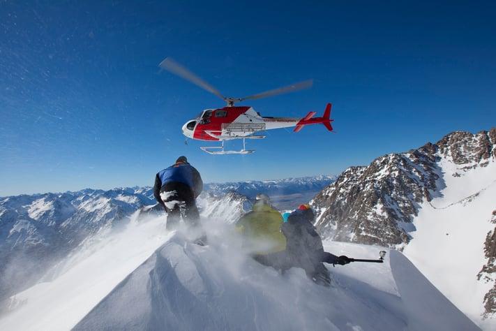 Alternative Activities Ski Holiday - Heli Skiing