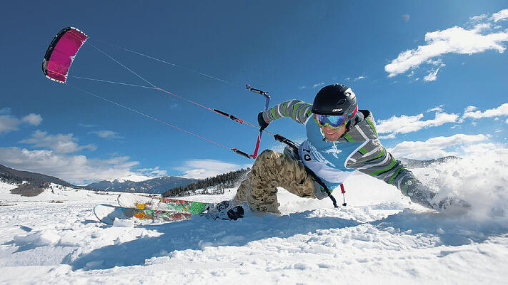 Alternative Activities Ski Holiday - Snow Kiting