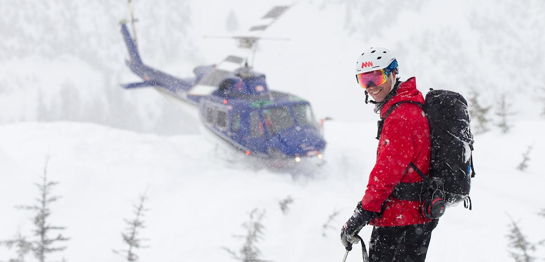 Adventures heli skier